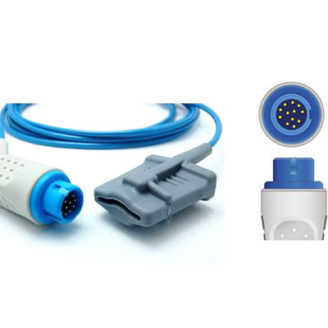 Sensor de SpO2 de Soft adulto compatible HP y Philips