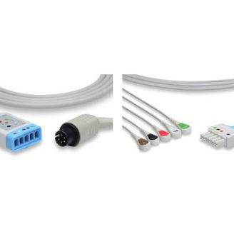 Cable Troncal ECG y Latiguillos 5 derivaciones para Monitores Drager Vista 120